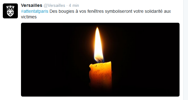 Bougie-Versailles