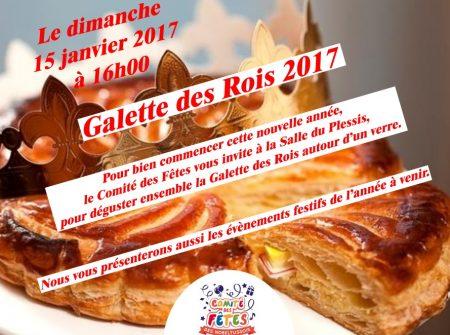 Galette des rois du comit des f tes toussus net - Galette des rois date 2017 ...