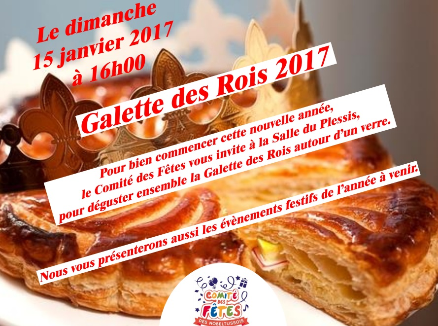 Galette des rois toussus net - Galette des rois date 2017 ...