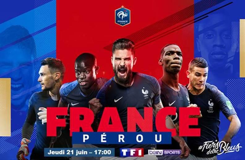 Diffusion coupe du monde - France Pérou