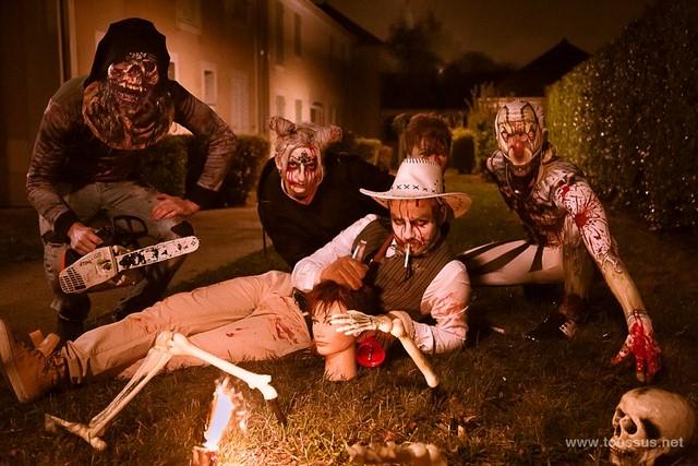 Photos : Halloween et ses horribles monstres.