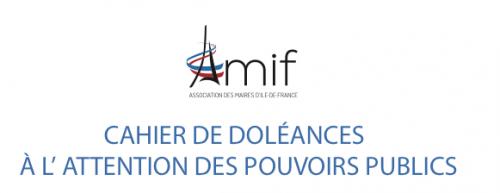 Cahiers de doléances de l'Association des Maires d'lle-de-France (AMIF)