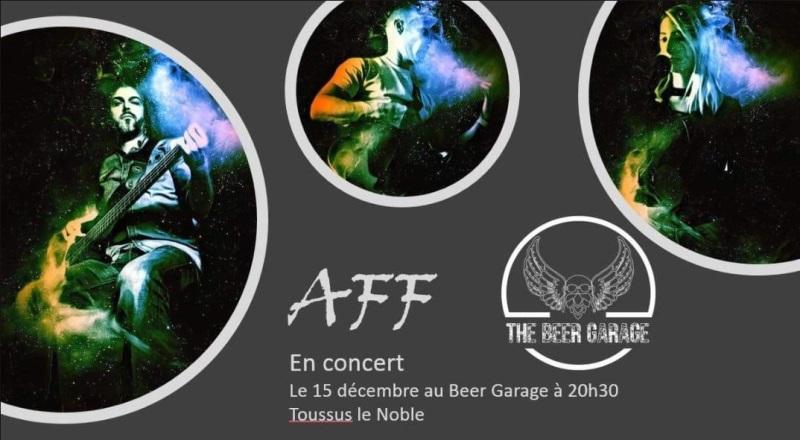 Concert Rock avec le groupe AFF au Beer Garage