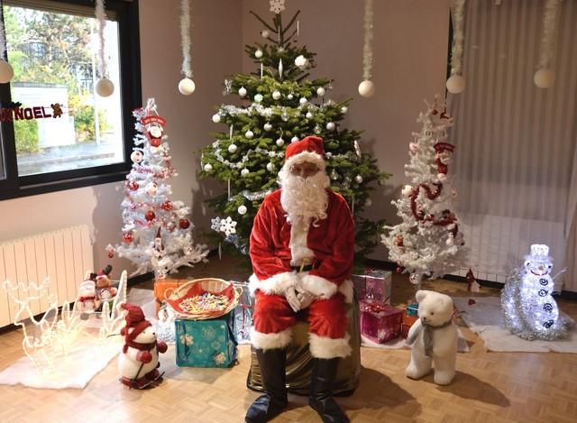 Photos - Journée du Père Noël avec le comité des fêtes