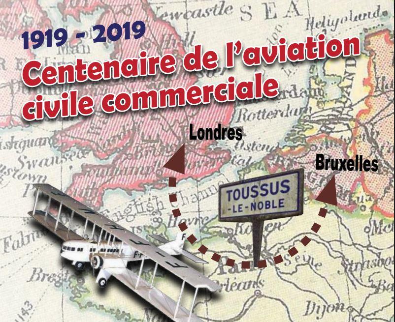 Dossier de presse du centenaire des 1ers vols de transport de passager au départ de Toussus