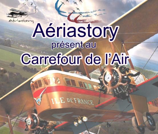 Aériastory au Carrefour de l'Air du Bourget 2019