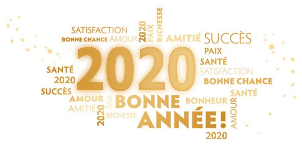 Bonne année 2020 à tous
